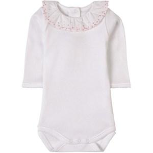 Bonpoint Camelia Print Baby Body Vit 12 mån