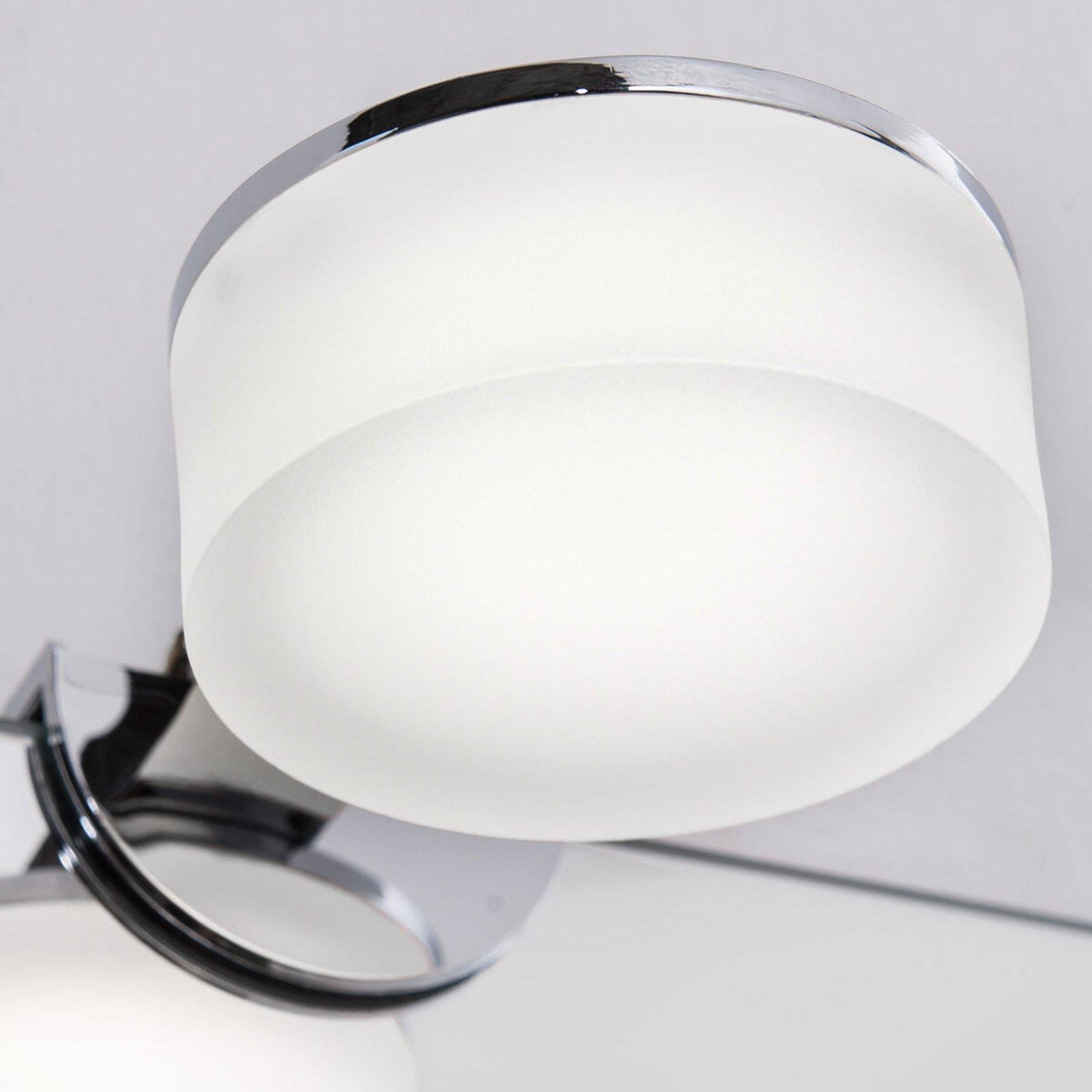 IP44 - LED-speillampe Noah, rund