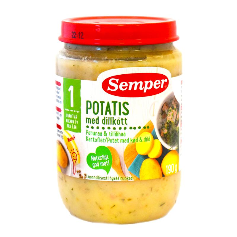 Barnmat Potatis Med Dillkött - 33% rabatt