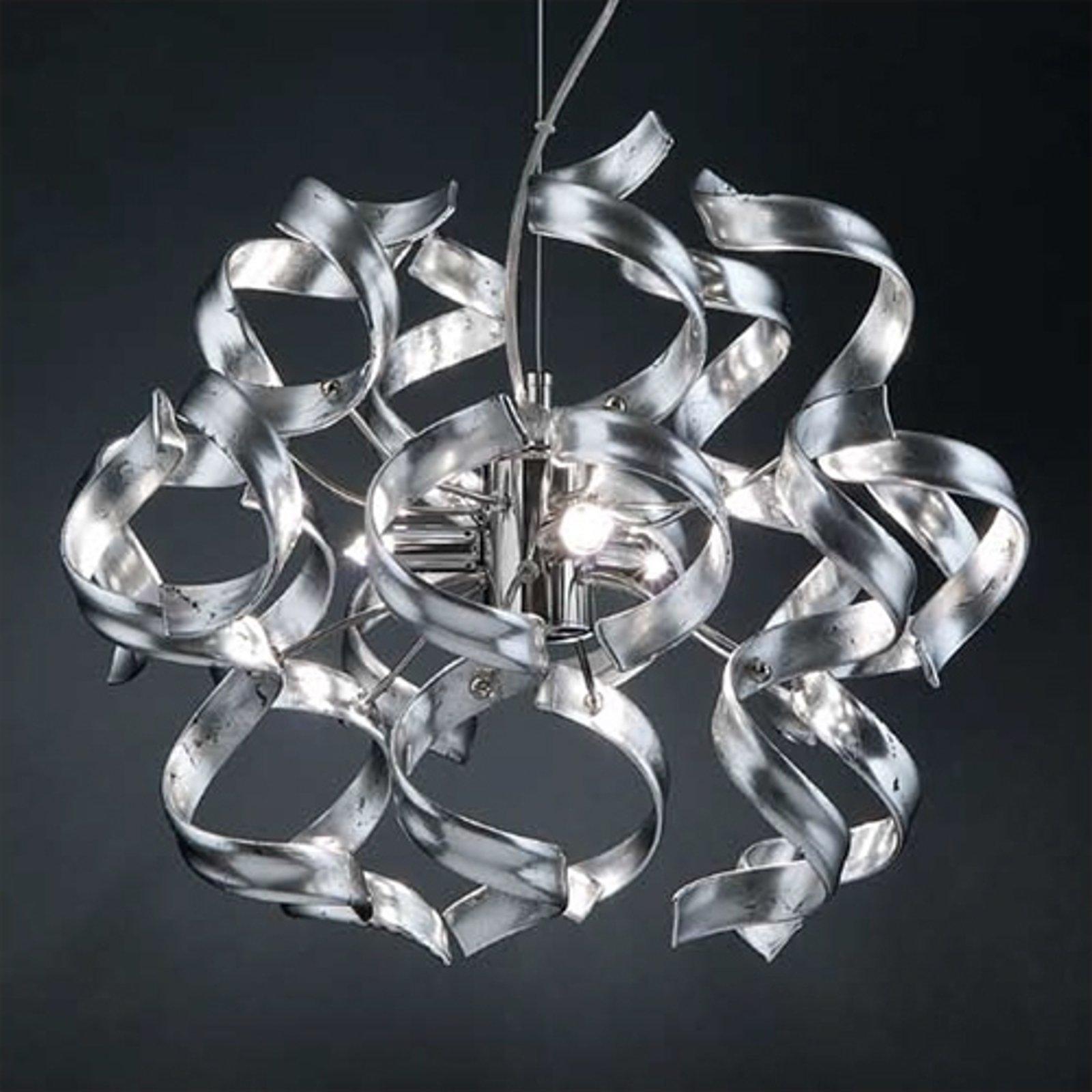 Fin taklampe SILVER, 40 cm i diameter