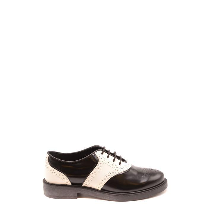 Tod`s Women's Lace Up Shoe Black 182027 - black 36