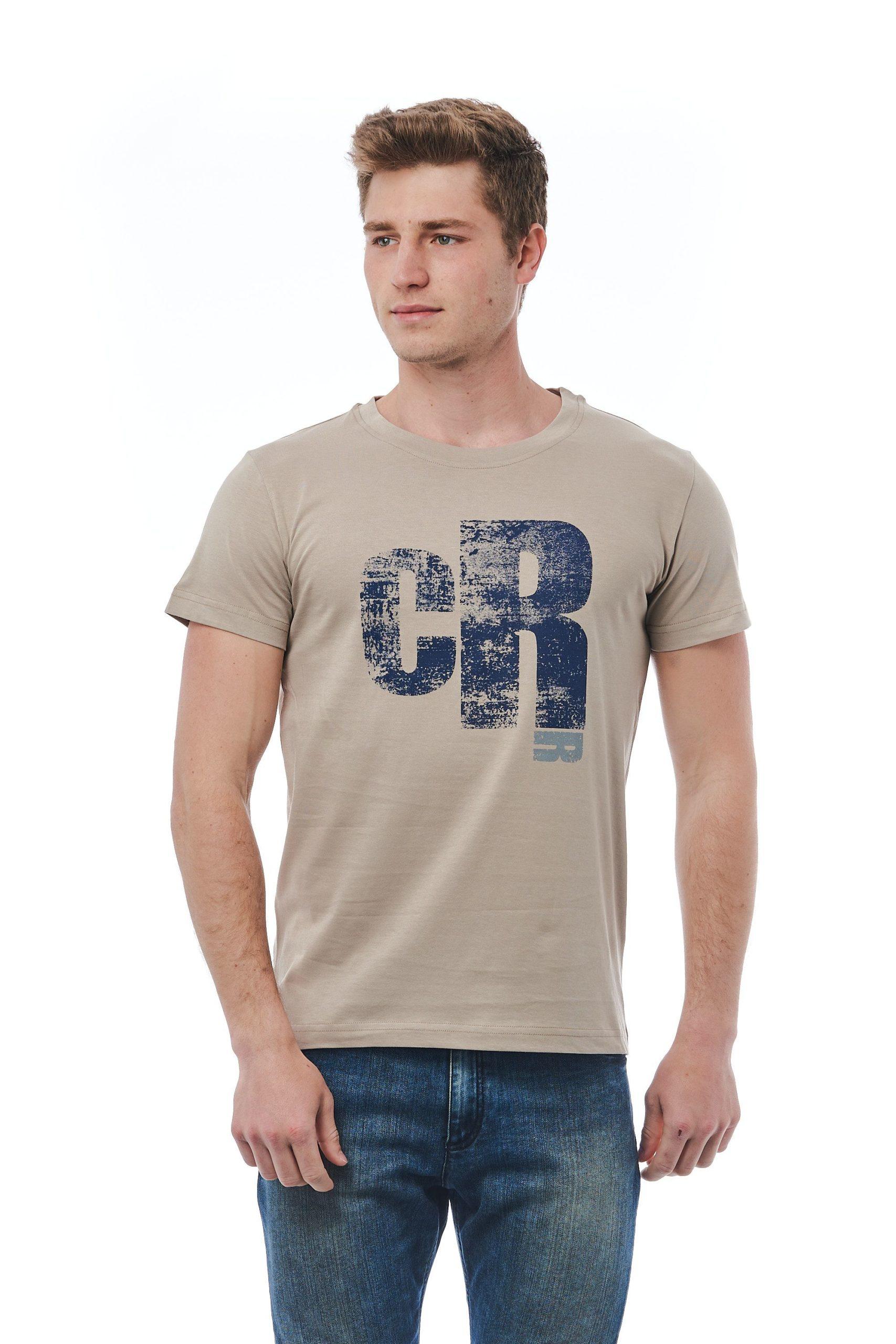 Cerruti 1881 Men's T-Shirt Beige CE1410042 - L