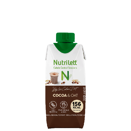 VLCD Smoothie Cacao Oat, 330 ml