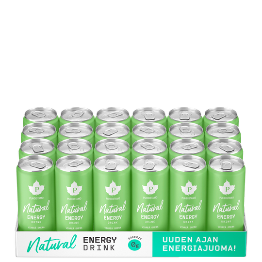 24 x Natural energy drink, 330ml