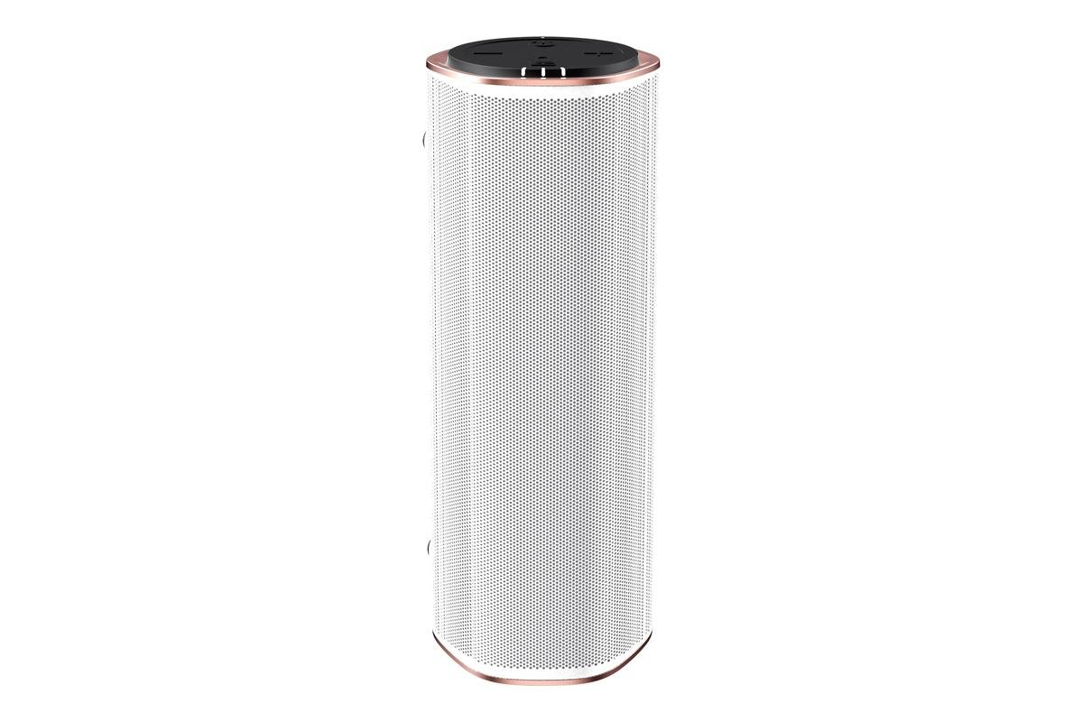 Creative - Portable Multi-room Wi-Fi and Bluetooth Voice-enabled Speaker