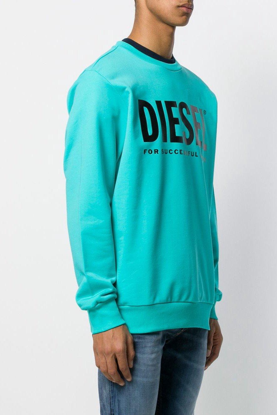 Diesel Men's Sweatshirt Various Colours 294057 - blue L