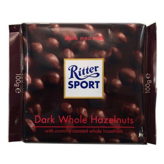 Ritter sport dark whole hazelnuts - 33% rabatt