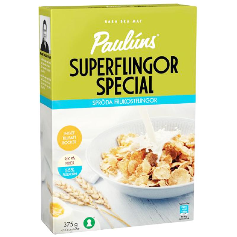 """Flingor """"Superflingor Special"""" 375g - 75% rabatt"""