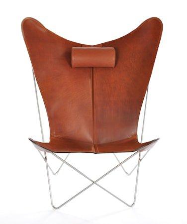 KS Chair Flaggermuslenestolen - Cognac