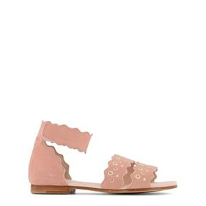 Chloé Stud Detail Sandaler Rosa 25 (UK 8)