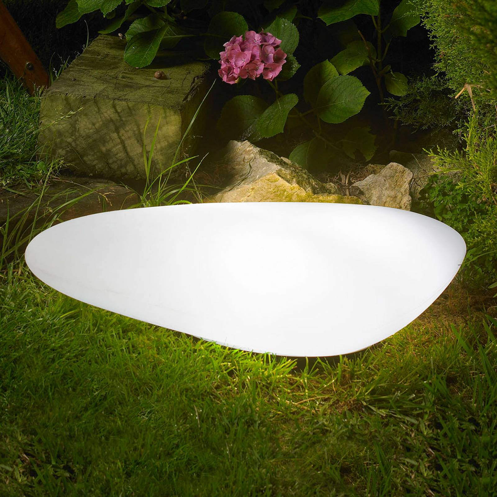 LED-ulkokoristevalaisin Stone Out