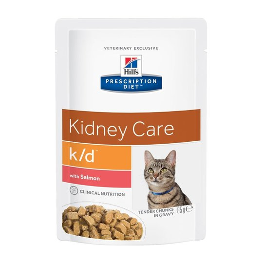 Hill's Prescription Diet Feline k/d Kidney Care Salmon 12x85 g