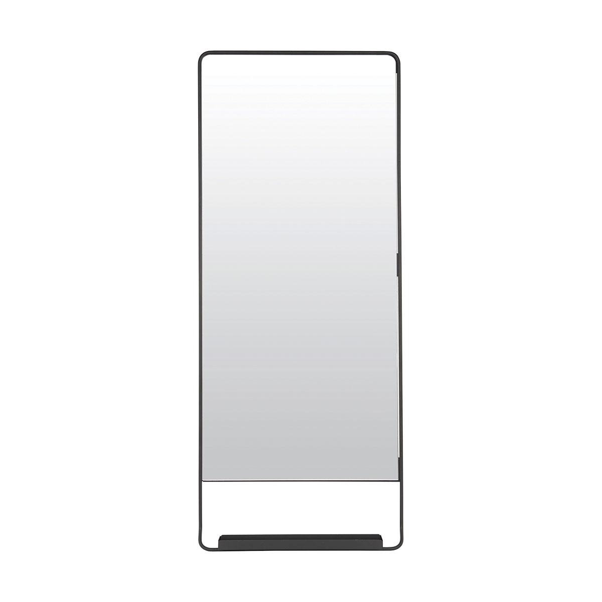Spegel med hylla, Chic, Svart House Doctor