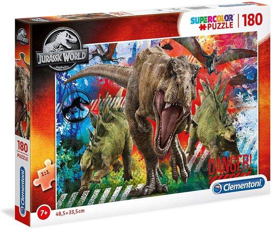 Jurassic World Puslespill, 180 Biter