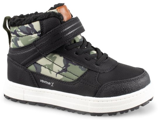 Pax Chilla Sneaker, Svart/Camo, 24