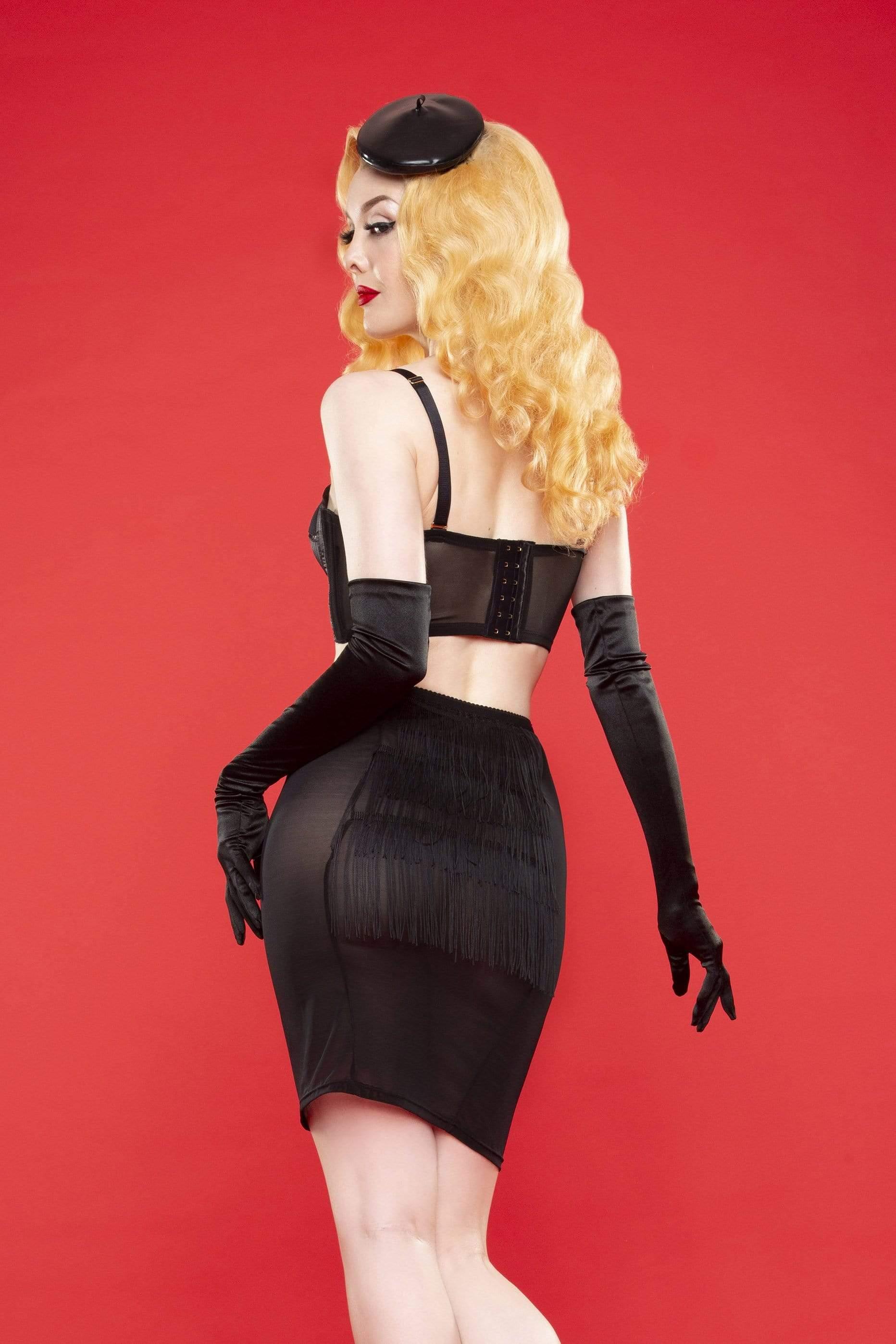 Bettie Page Tassle Lingerie Skirt UK 10 / US 6