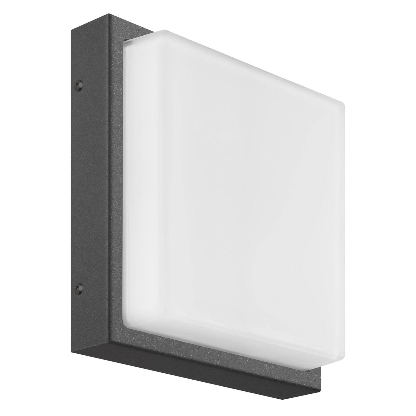 Ernest kvadratisk utendørs LED-vegglampe