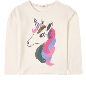 Billieblush Unicorn Tröja Off white 2 år