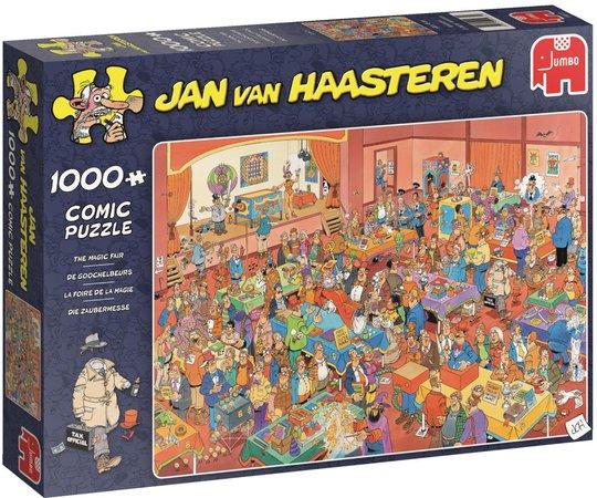 Jumbo Puslespill Jan van Haasteren Magic Fair 1000