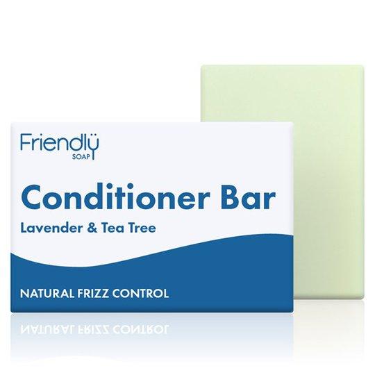 Friendly Soap Conditioner Bar Lavender & Tea Tree, 95 g
