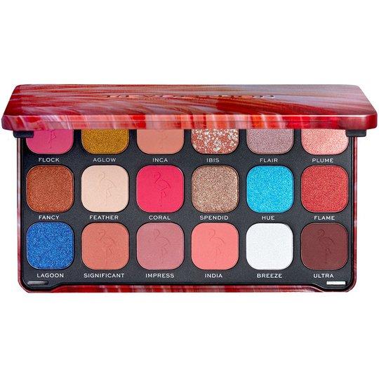 Forever Flawless Flamboyance Flamingo Palette, Makeup Revolution Luomiväri