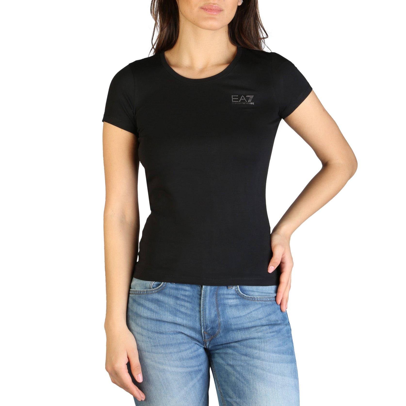 EA7 Women's T-Shirt Various Colours 7VTT01_TJ4FZ - black XXS