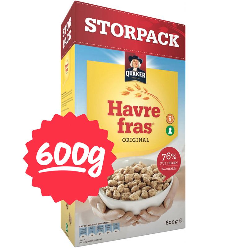 "Frukostflingor ""Havrefras"" 600g - 5% rabatt"