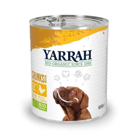 Yarrah Organic Dog Chicken Chunks (820 g)