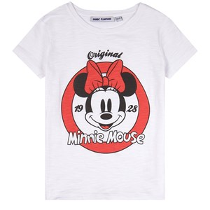 Fabric Flavours Minnie Mouse Club Print T-shirt Vit 3-4 years