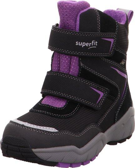 Superfit Culusuk 2.0 GTX Vintersko, Black/Violet 30