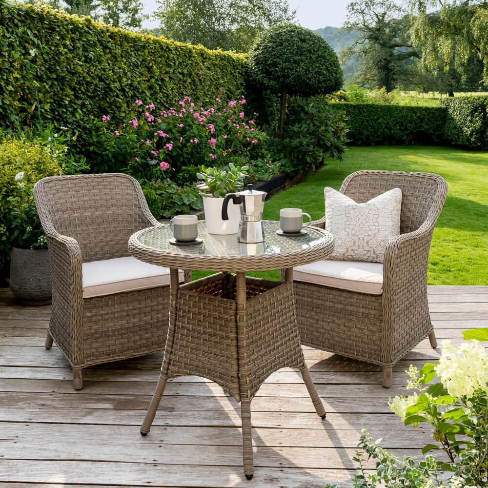2021 Kettler Charlbury Garden Bistro Table Set