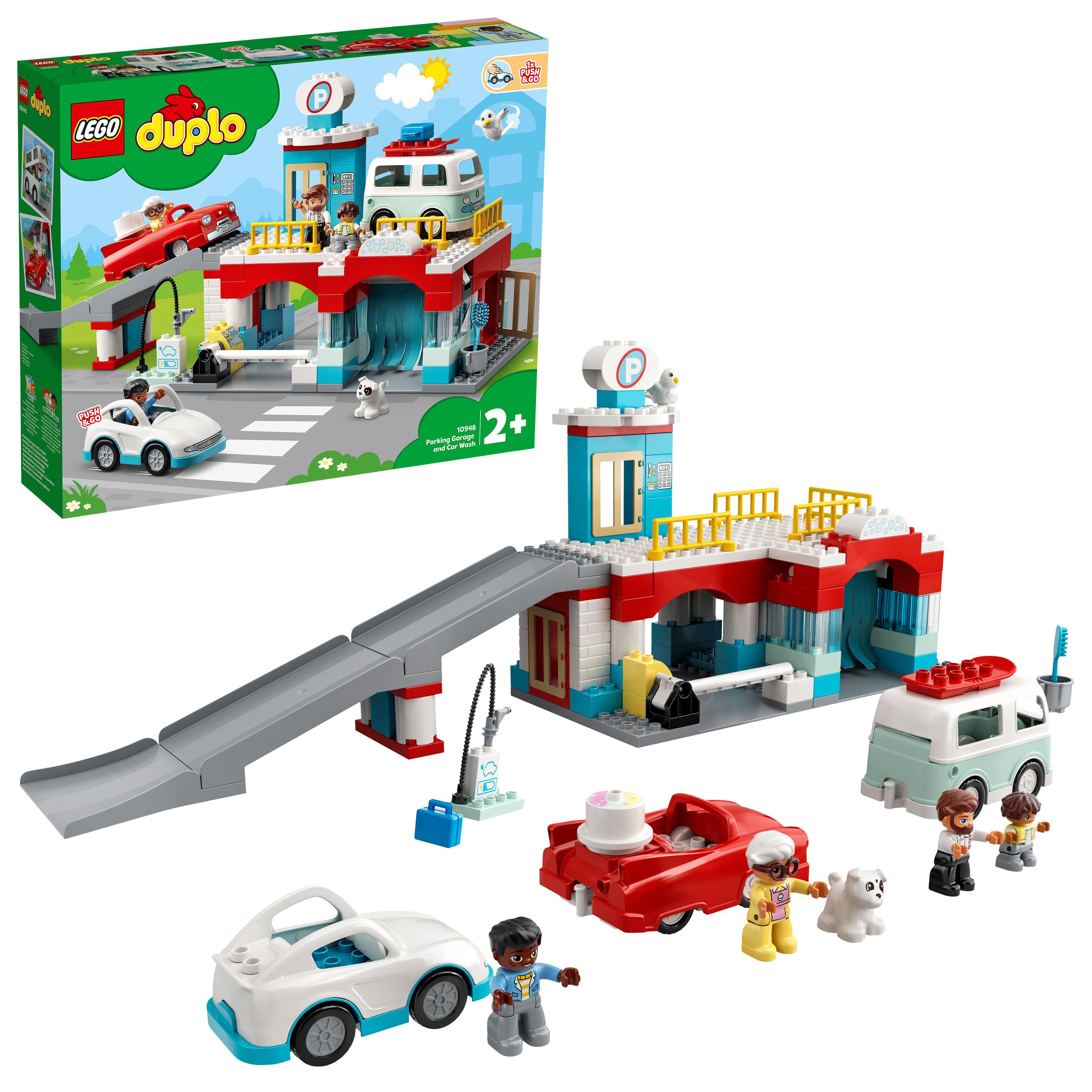 LEGO DUPLO - Parking Garage and Car Wash (10948)