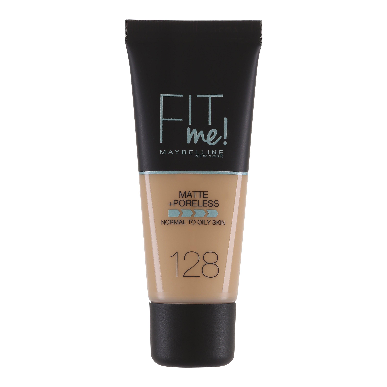 Maybelline - Fit Me Matte + Poreless Foundation - 128 Warm Nude