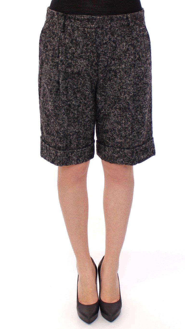 Dolce & Gabbana Women's wool Shorts Gray GSS11722 - IT44|L