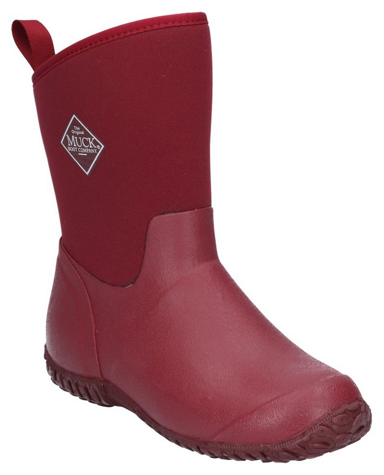 Muck Boots Unisex Muckster II Slip On Short Boot Various Colours 28899 - Red 3
