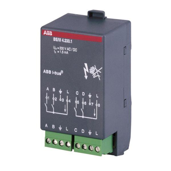 ABB 2CDG110005R0011 Binäärivastaanotin 4 kanavaa KNX 10–230 V, AC