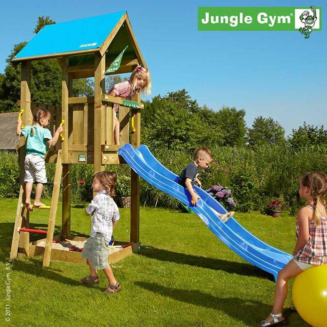 Jungle Gym Castle Lektorn Komplett Exkl. Rutschkana