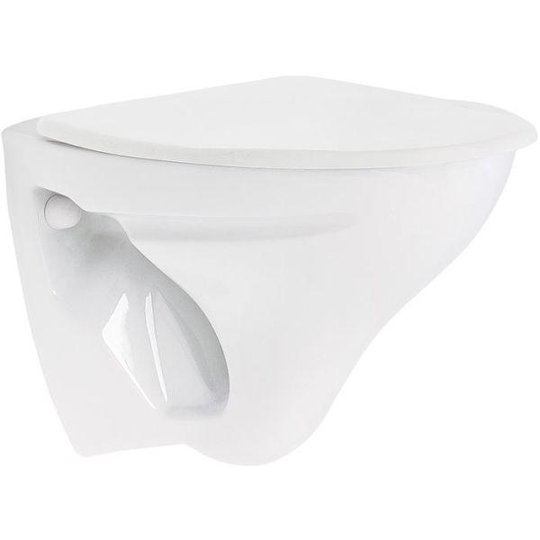 Ifö Cera 387502099 WC-istuin ilman huuhtelusäiliötä pehmeällä istuinkannella