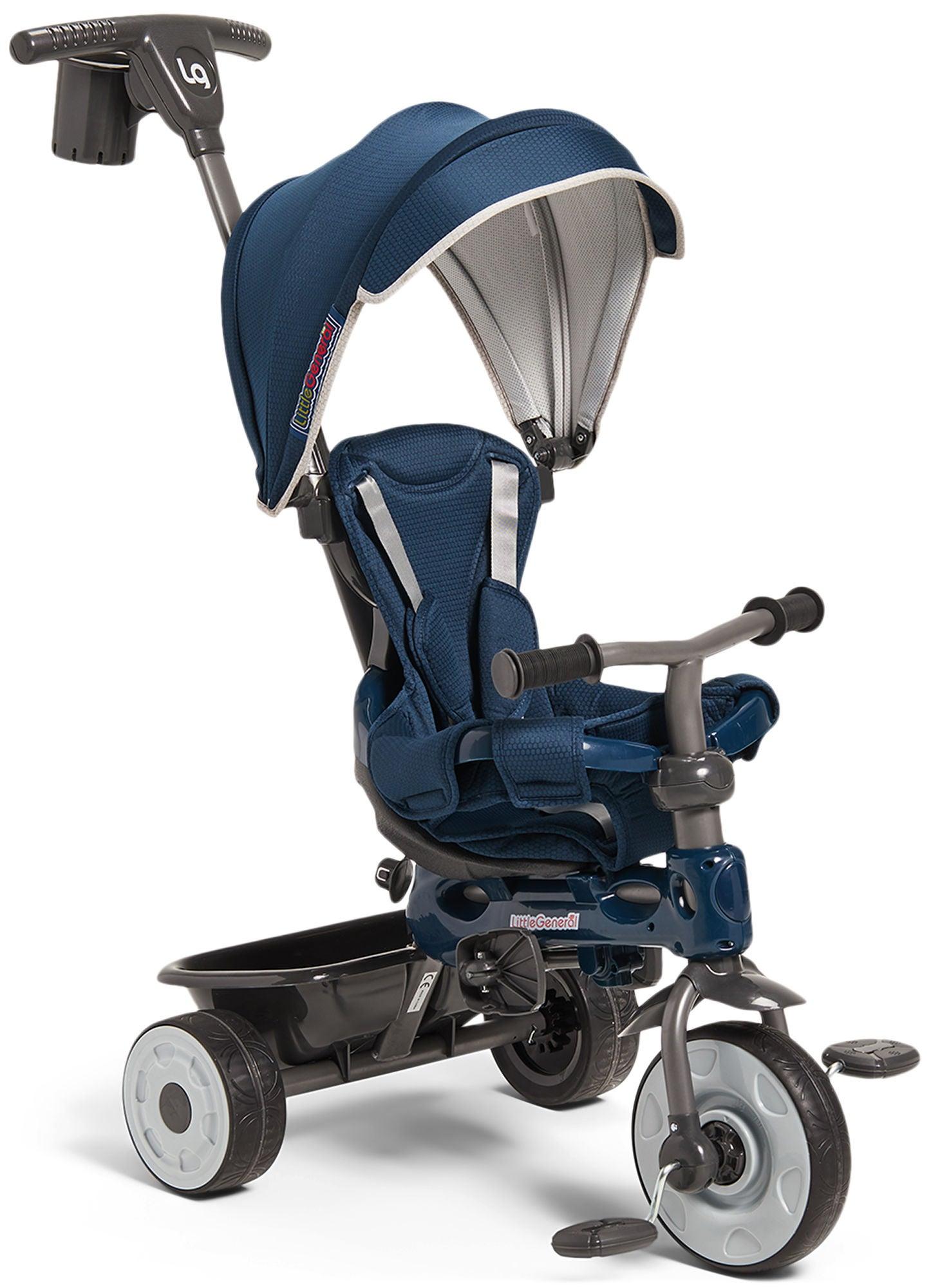 Little General Multifunktionell Trehjuling, Blå