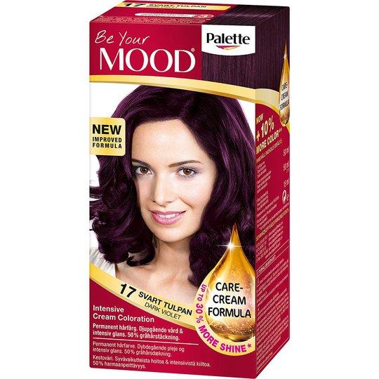 Mood Haircolor 17 Dark Violet, MOOD Hiusvärit