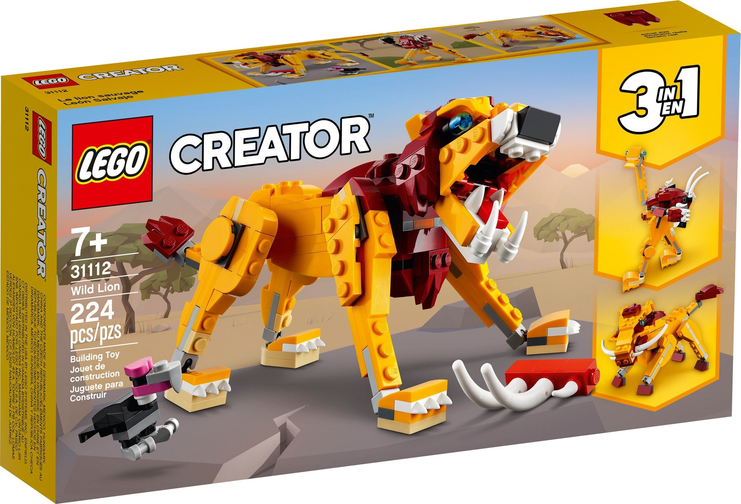 LEGO Creator - Wild Lion (31112)