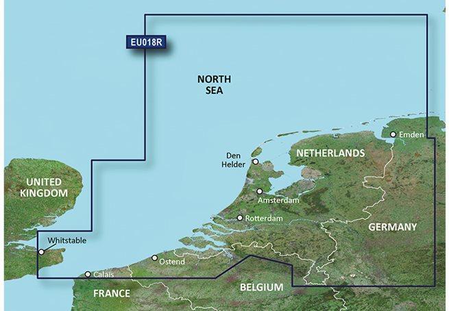 Garmin Benelux Offshore & Inland Garmin microSD™/SD™ card: HXEU018R