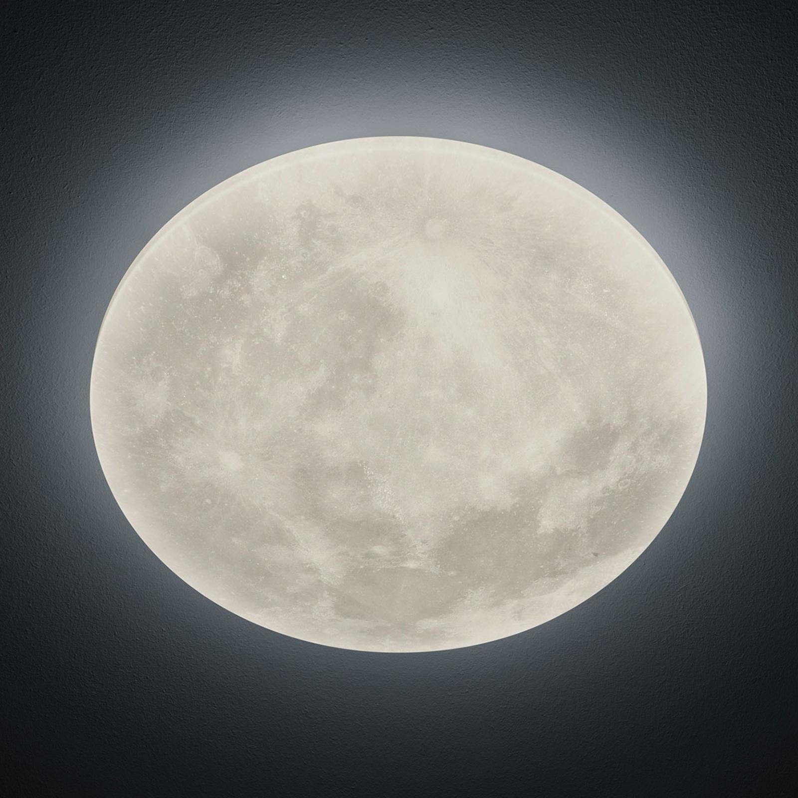 LED-kattovalaisin Lunar kaukosäätimellä 40 cm