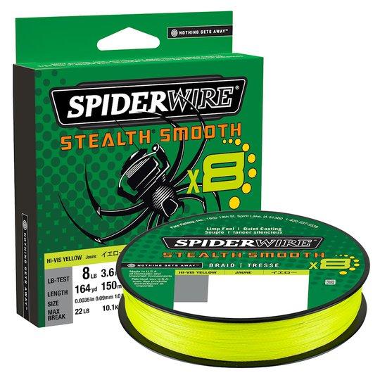 Spiderwire Smooth 8 gul 150 m