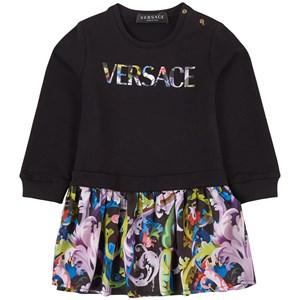 Versace Baroccoflage Klänning Svart 24 mån