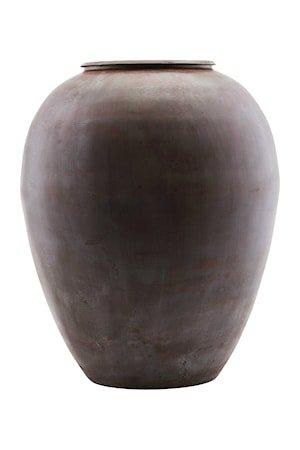 Vase Etnik Ø 33x40 cm - Vinrød