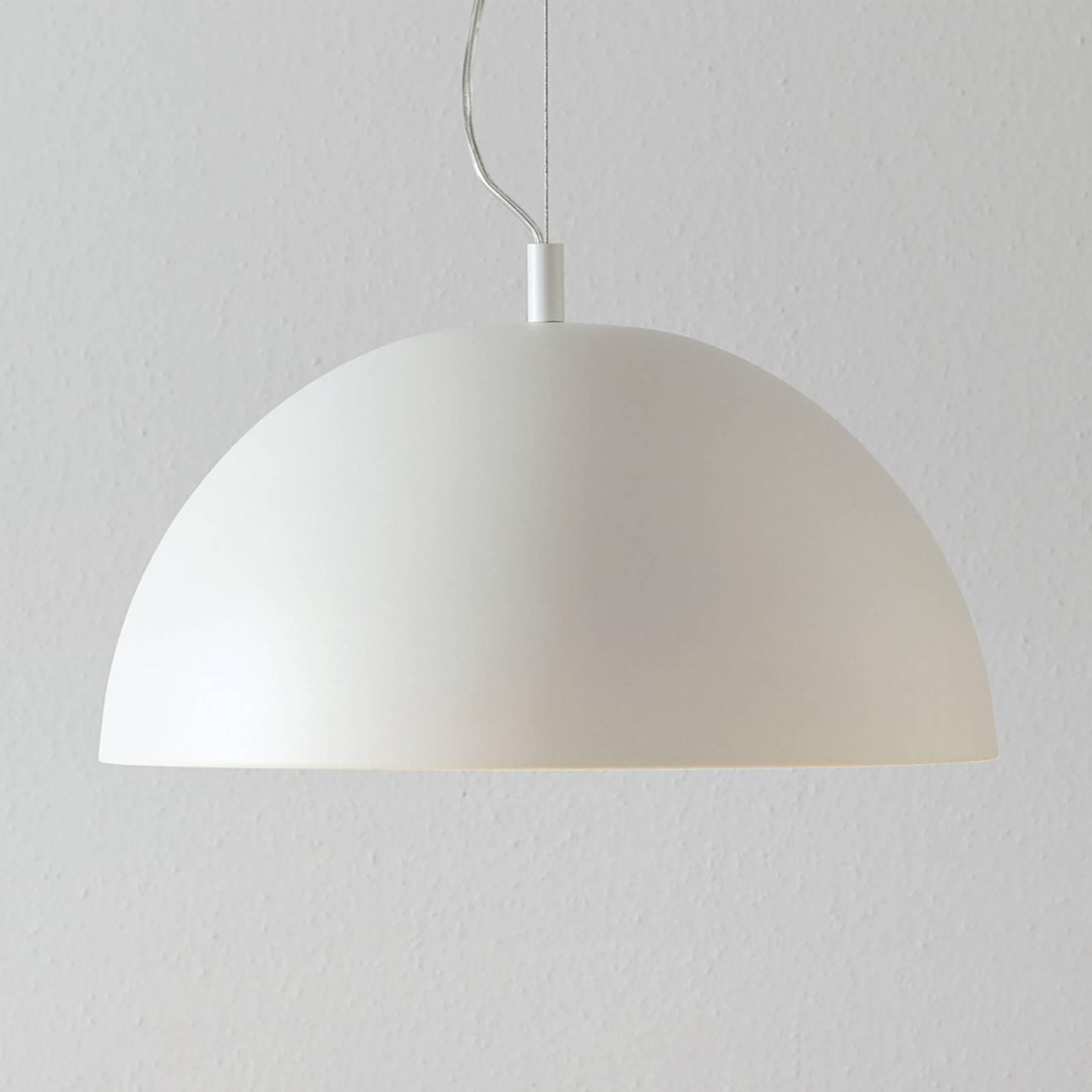 Lucande Phelan -riippuvalo 40 cm valkoinen/kulta