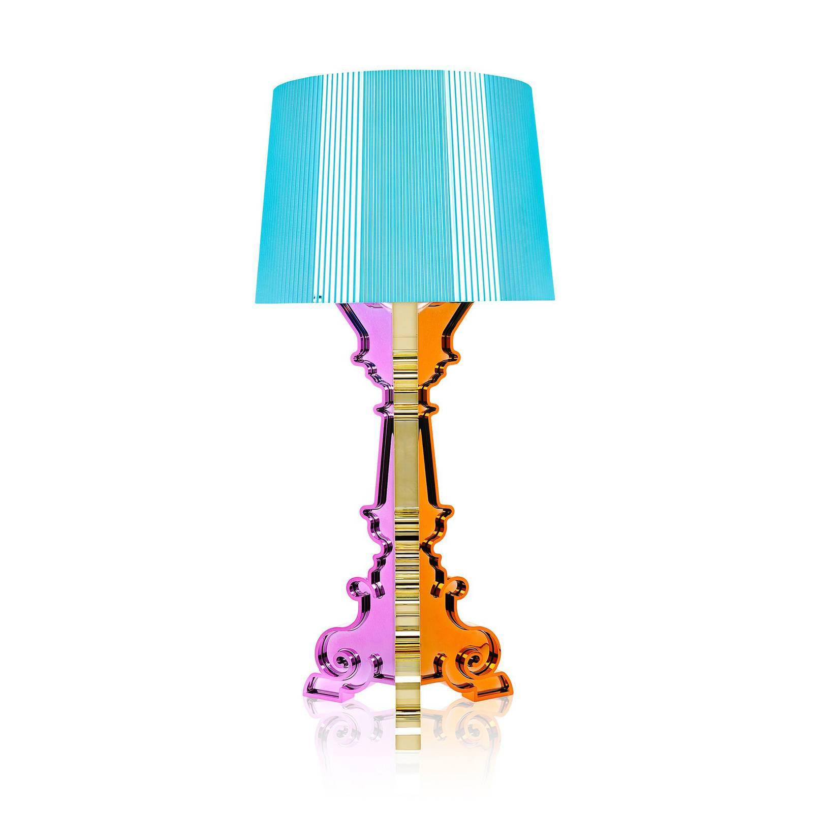 Kartell Bourgie -LED-pöytälamppu, sininen moniväri