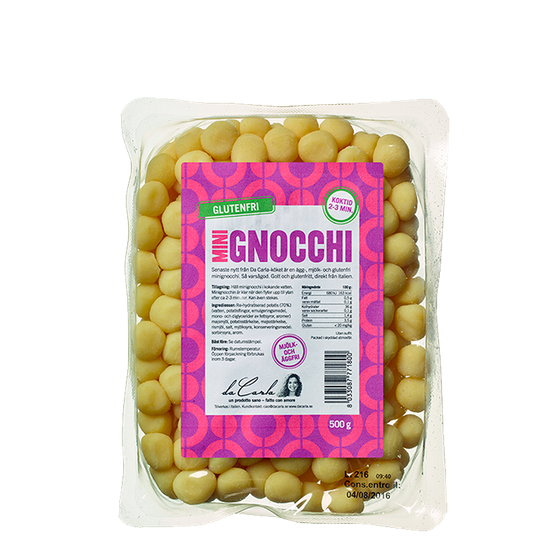 Glutenfri Mini Gnocchi, 500 g