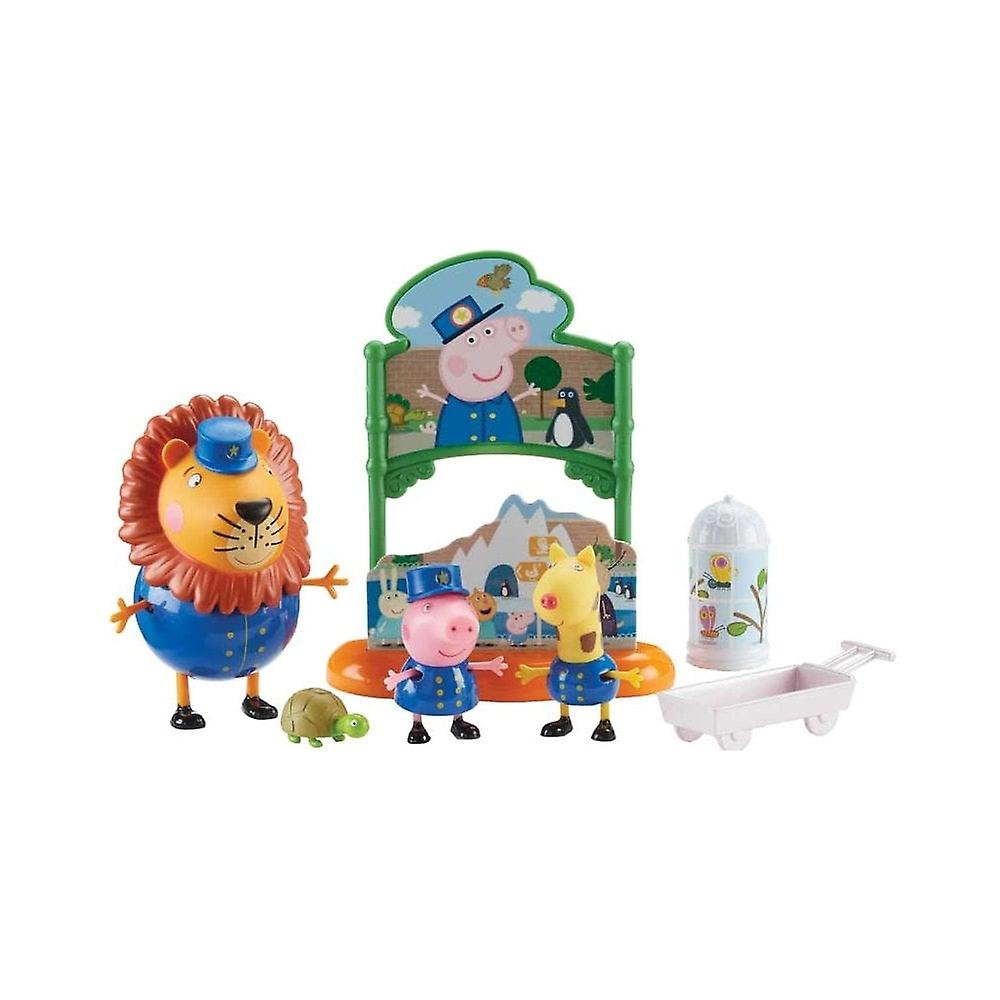 Peppa Pig - Theme Playsets - Peppa's Day at The Zoo